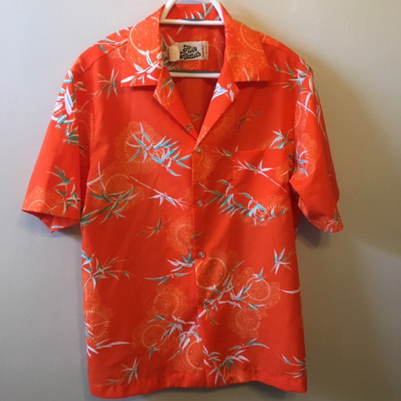 Hilo Hattie Other - 1970's Vintage Rare Hilo Hattie's Hawaiian Shirt L